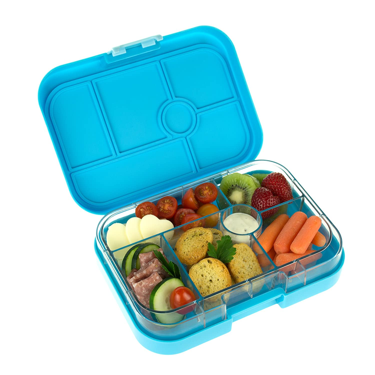 Yumbox Leakproof Bento Lunch Box Container (Gelato Blue) for Kids