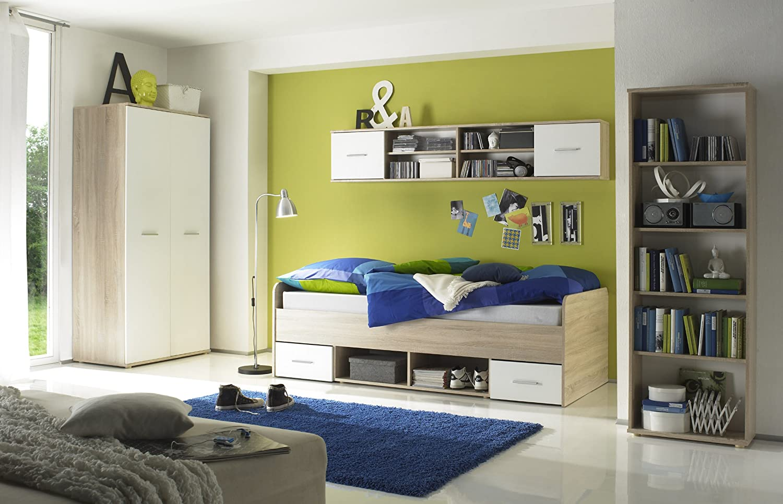 Jugendzimmer Eiche Sonoma/ weiss kaufen