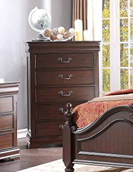 Homelegance Mont Belvieu Chest, Hidden Drawer In Cherry