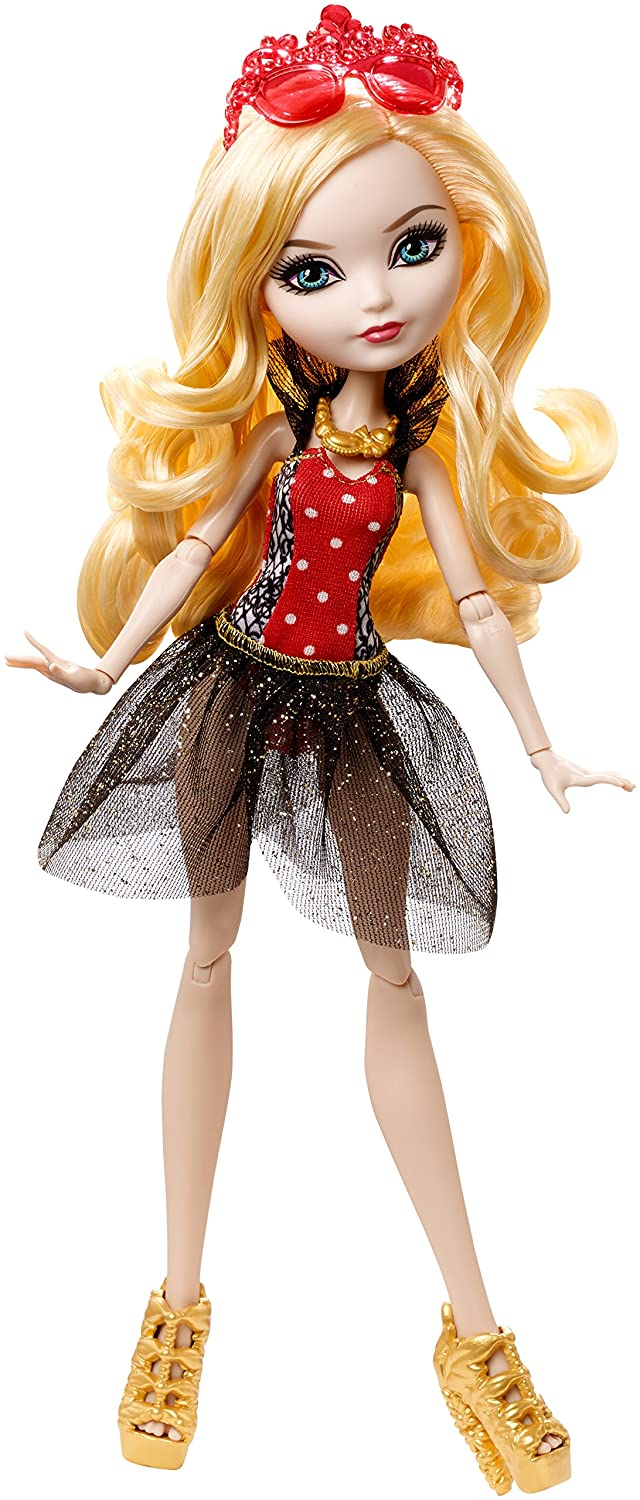 Ever After High Mirror Beach Apple White Doll