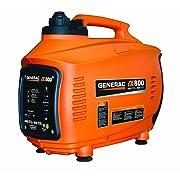 Generac iX Series 4-Stroke OHV Gas-Powered Portable Inverter Generator