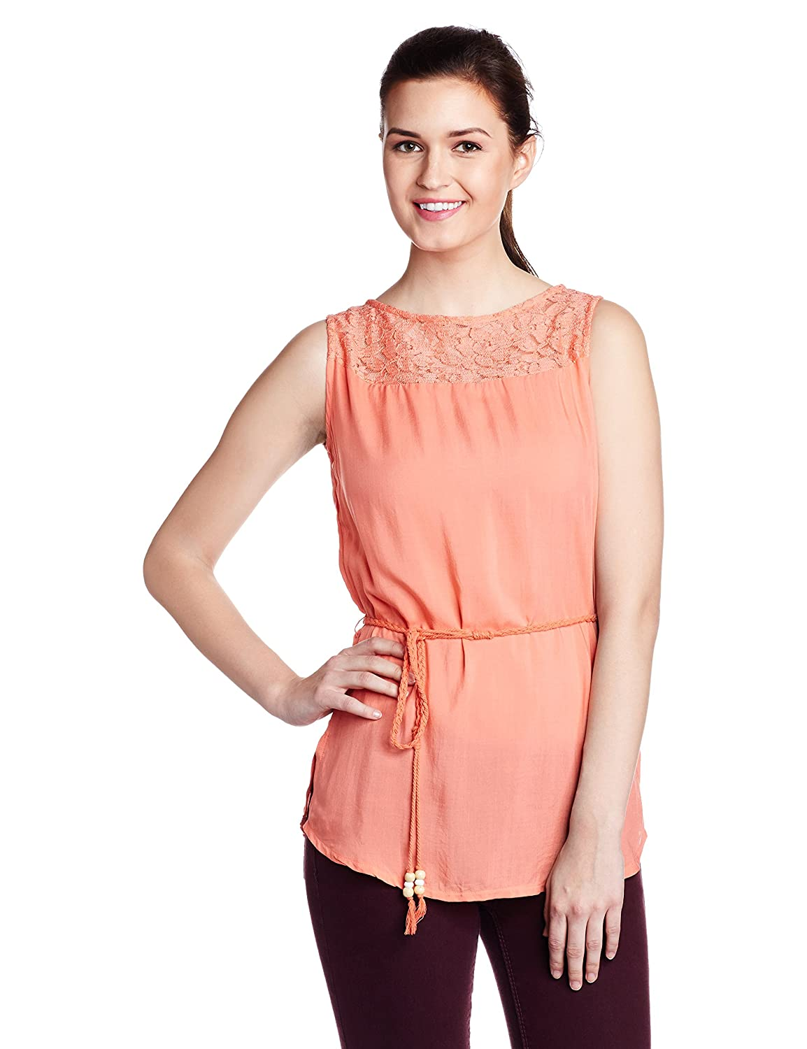 US Polo Women's Button Down Shirt By Amazon @ Rs.1,329