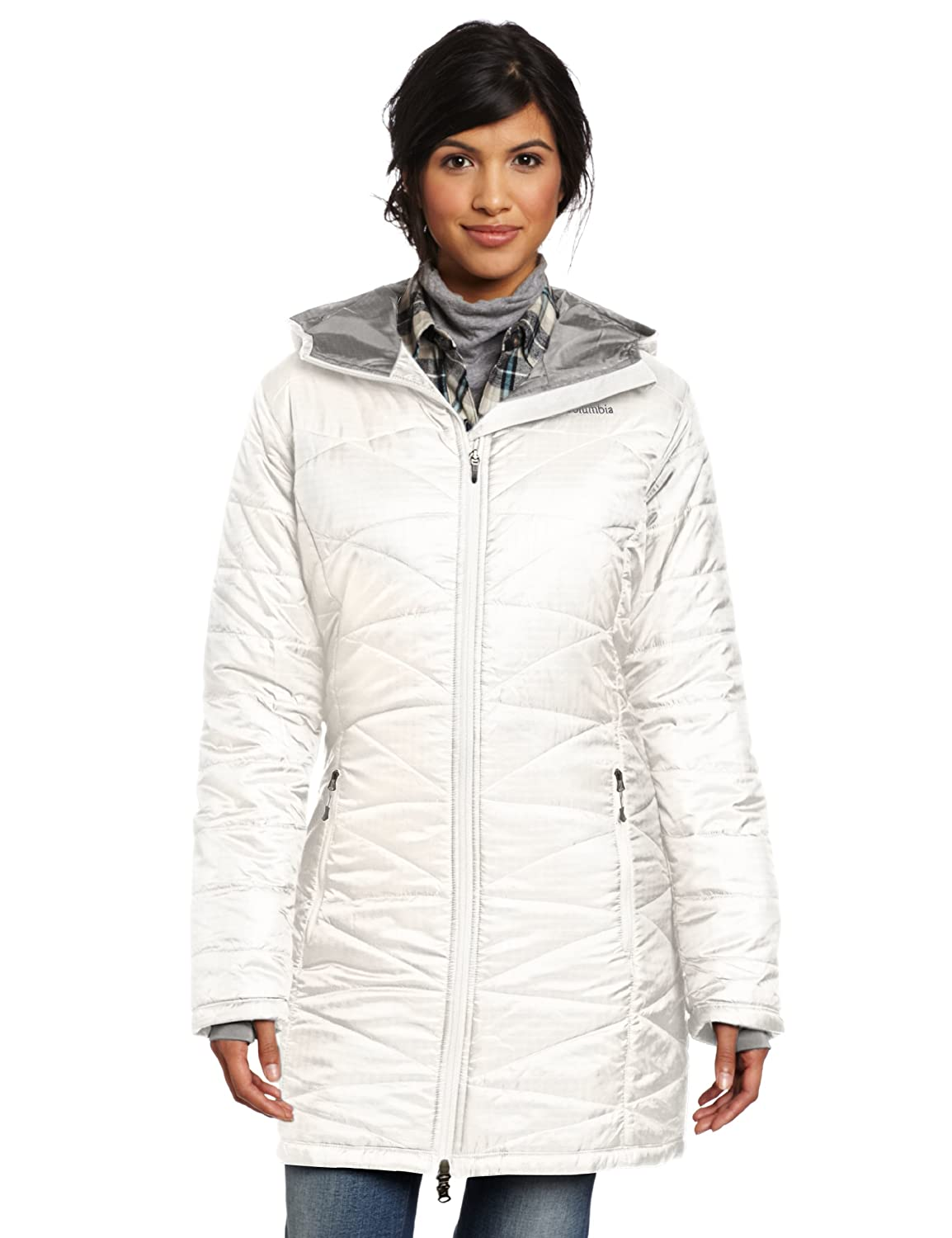Columbia Women's Mighty Lite Hooded Jacket sea salt günstig online kaufen