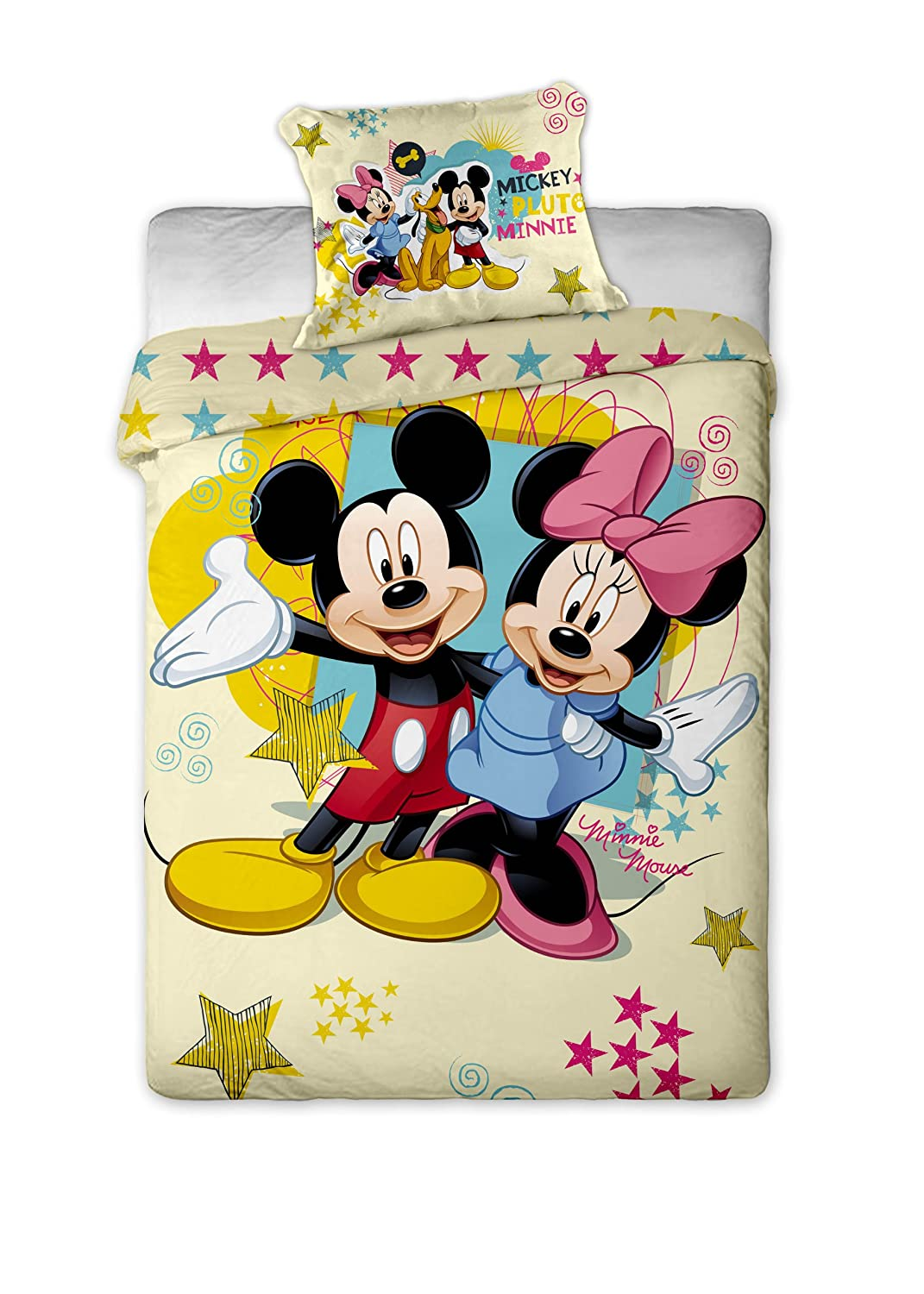 housse couette mickey. Black Bedroom Furniture Sets. Home Design Ideas
