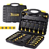Screwdriver Set, Professional 20-Piece Screwdriver Tool Set with Case, 6150CRV, Precision Slotted/Phillips/Torx Screwdriver with Heavy Duty Magnetic Tips, Craftsman Tool Kits TECCPO-THTC03H (Color: 20pcs Screwdriver Set, Tamaño: 20PCS Screwdriver Set with Toolbox)