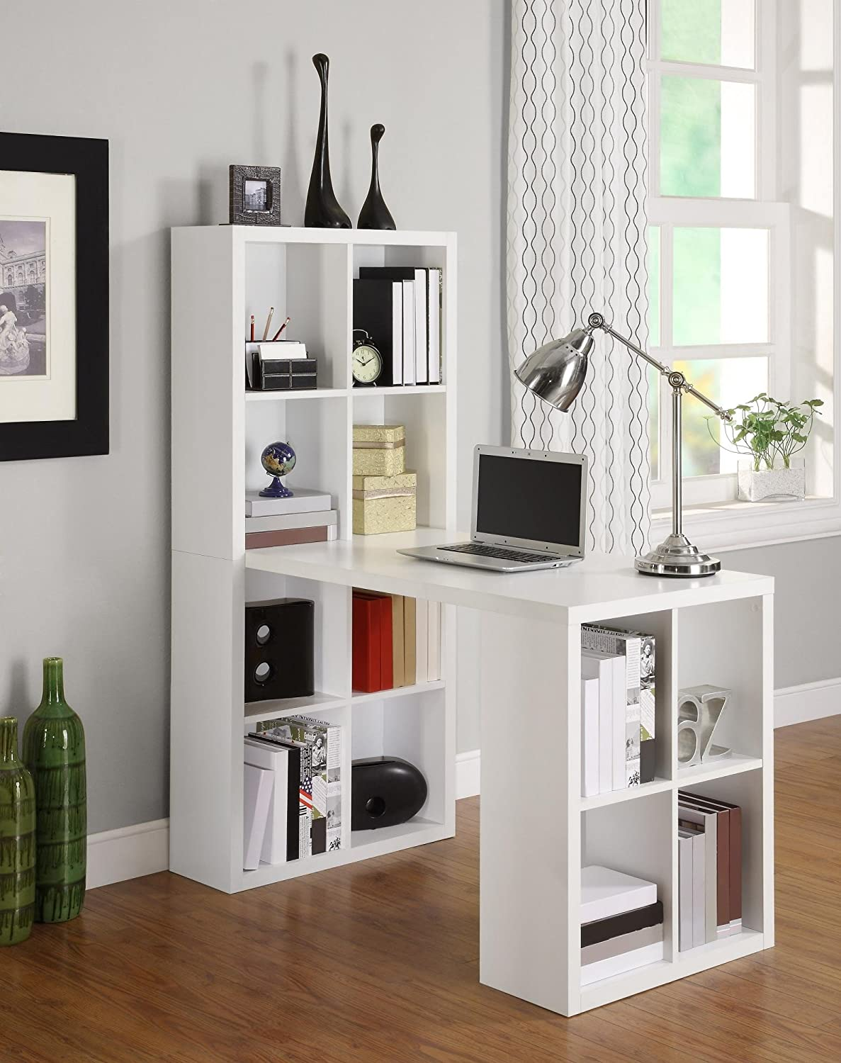 Altra Furniture Hollow Core Hobby Desk, White