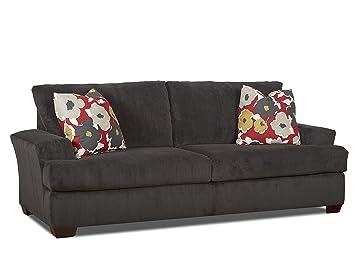 Klaussner Chandler Sofa, Cosmic/Red