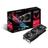 ASUS Radeon RX Vega 64 8GB Overclocked 2048-Bit HBM2 PCI Express 3.0 HDCP Ready Video Card (STRIX-RXVEGA64-O8G-GAMING) (Tamaño: RX Vega64)