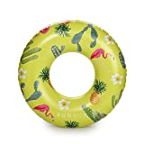 FUNBOY Oversized Inflatable Cactus Cooler Tube Pool Float
