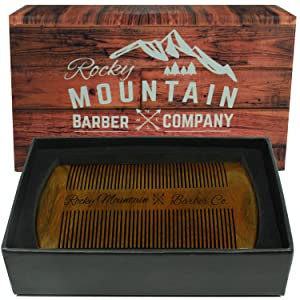 Rocky Mountain Barber Company Sandalwood Comb