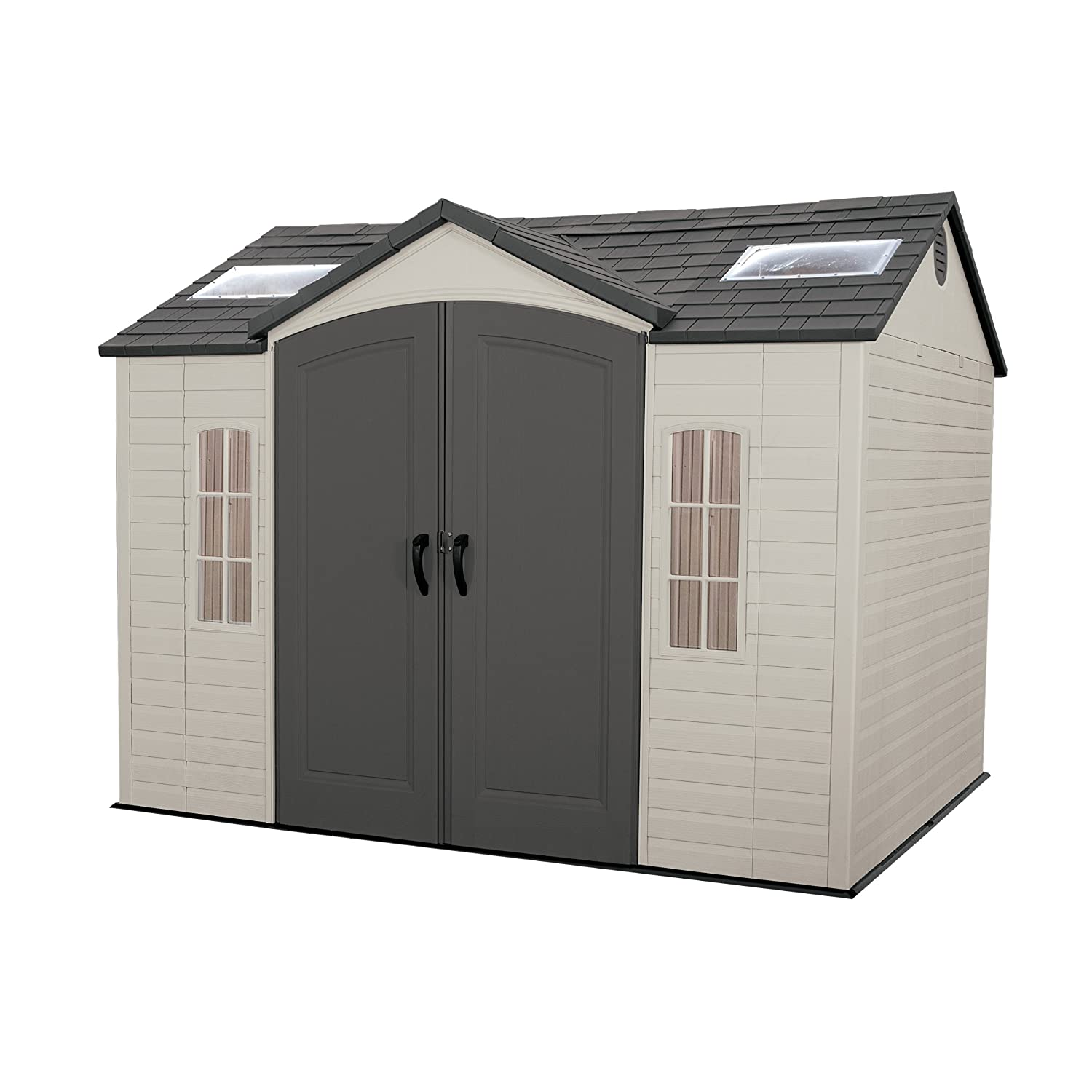 Lifetime 8-by-10-foot outdoor storage shed