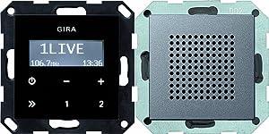 Gira 228028 Unterputz Radio RDS System 55, anthrazit  BaumarktKundenbewertung und weitere Informationen