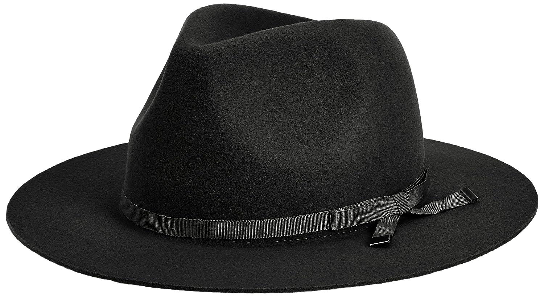 Amazon.co.jp: (マーキュリーデュオ)MERCURYDUO 【GDS】 ソフトカラーフェルトハット 001511000301 09 ブラック F: 服&ファッション小物通販