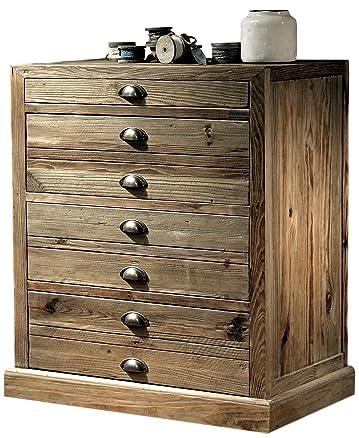 Cassettiera in legno massiccio Guarnieri Melissa
