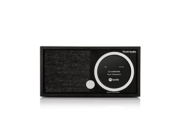 Tivoli Audio M1D-1731-NA Model One Digital in Black (Color: Black)