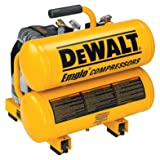 DEWALT D55151 14 Amp 1.1-HP 4-Gallon Oiled Twin Hot Dog Compressor (Tamaño: 4)