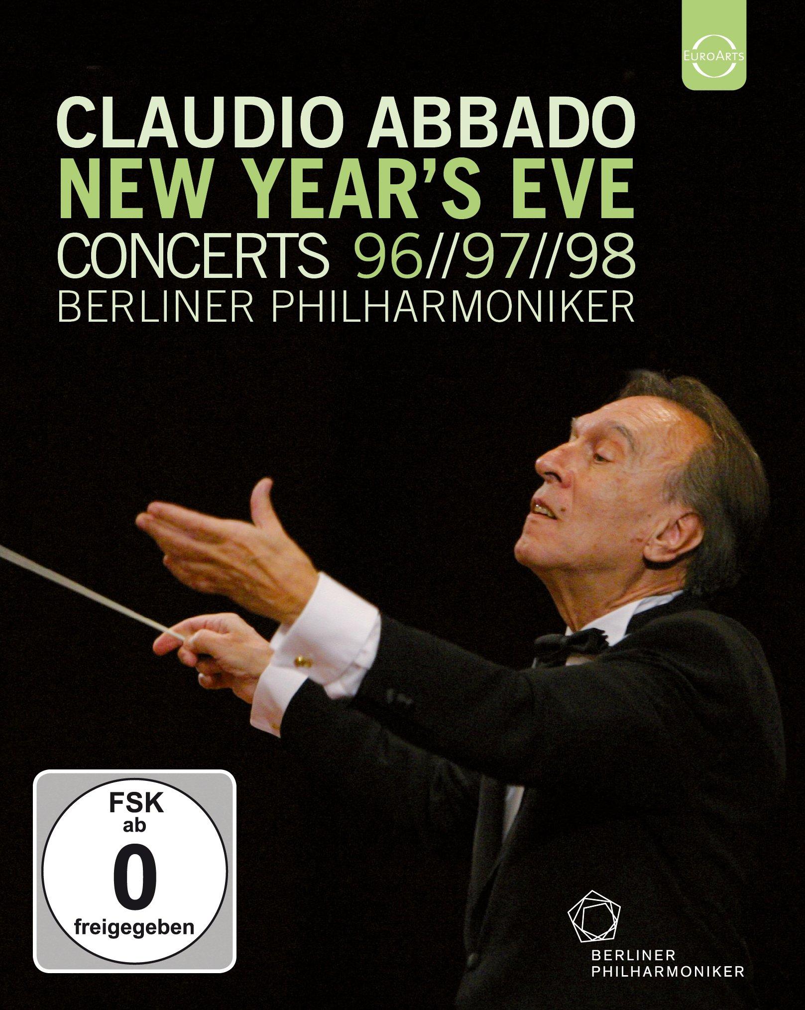 Claudio Abbado New Year's Eve Concerts 96-97-98 - Berliner Philharmoniker (2015) 3BD, Blu-ray 1080i AVC LPCM 2.0