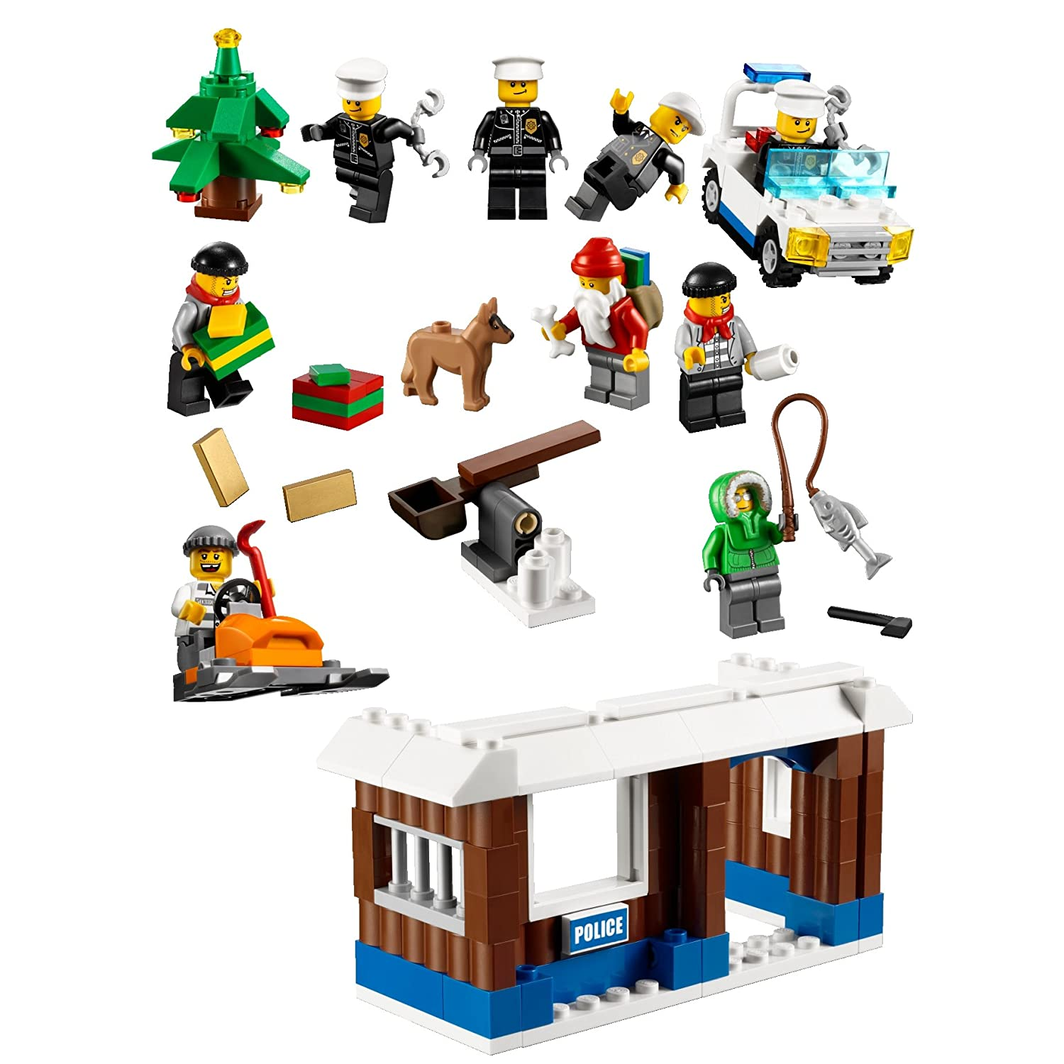 city adventskalender 2011 lego bei. Black Bedroom Furniture Sets. Home Design Ideas