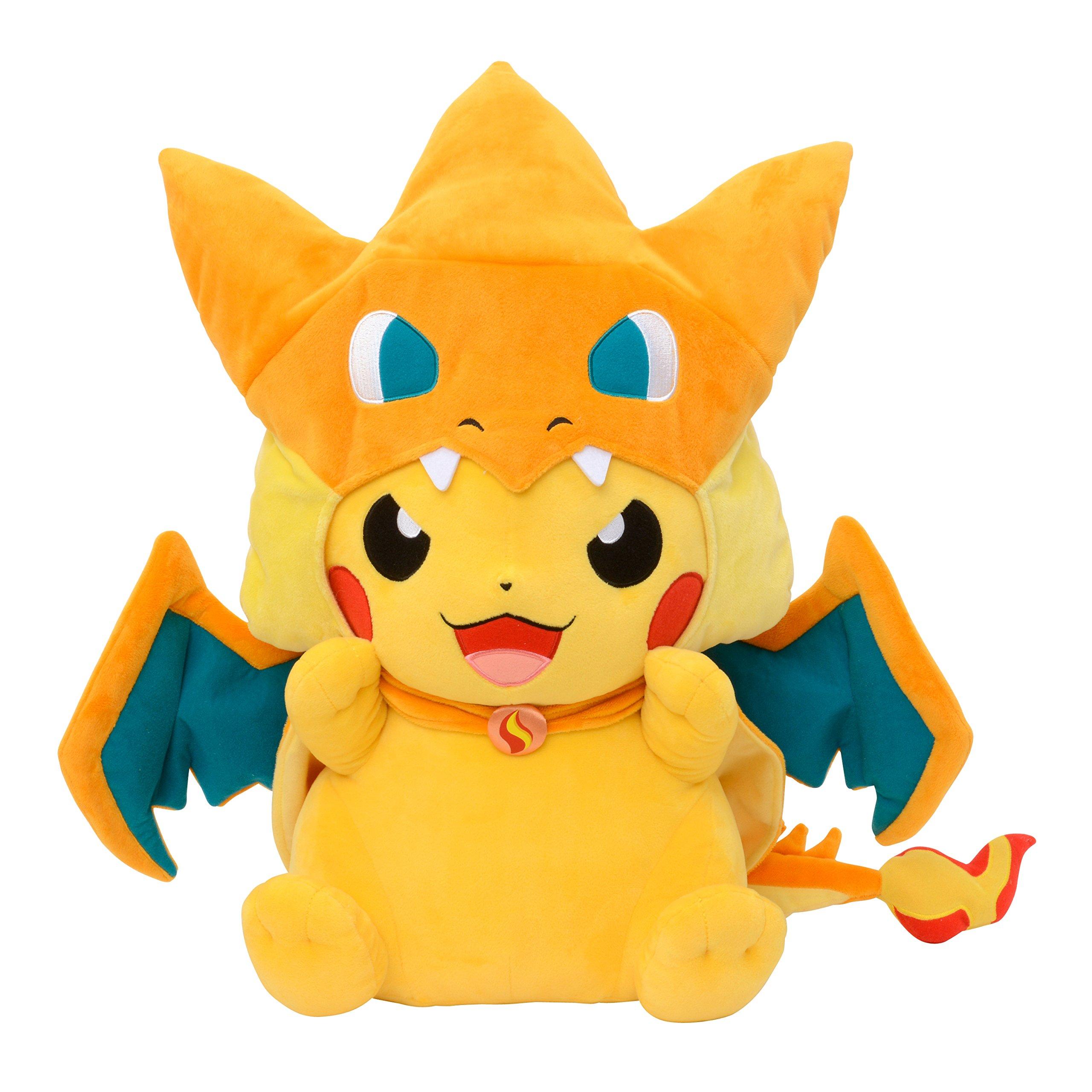 Pokemon Center Plush Doll Giant Pikazard Charizard Pikachu ...