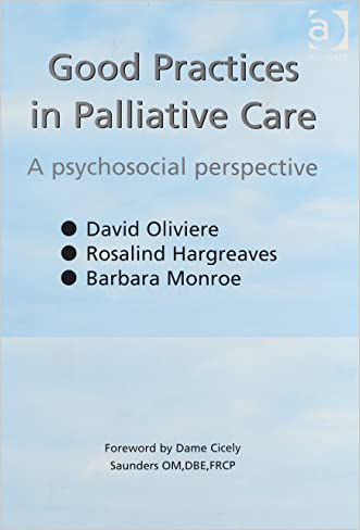Good Practices in Palliative Care: A Psychosocial Perspective