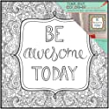 Mainstays 12x12 Color-In Format Frame (Be Awesome Today)