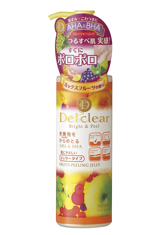明色化粧品 DETクリア ブライト&ピール ピーリングジェリー 180mL
