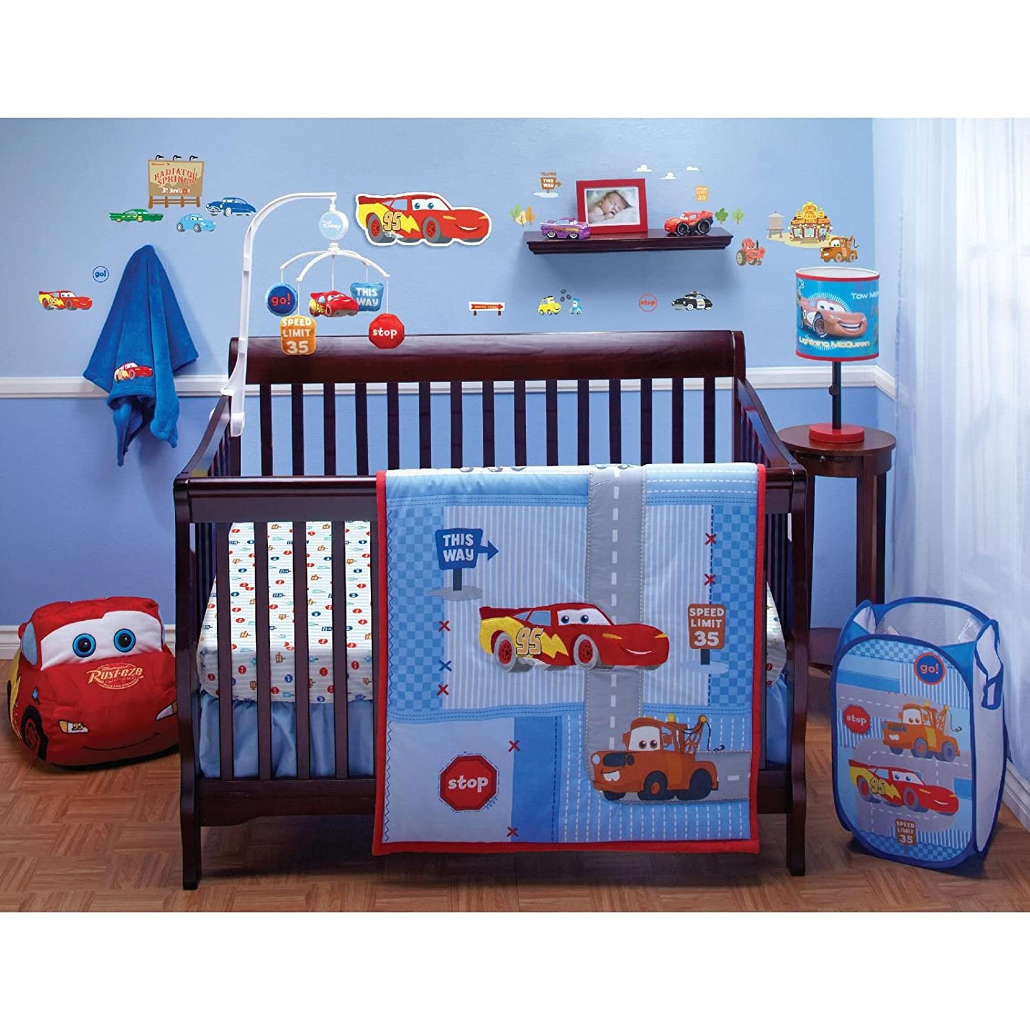 Baby Boy Car Crib Bedding