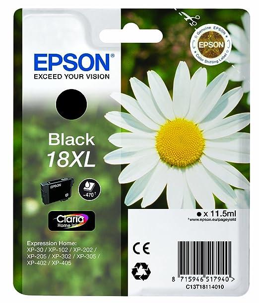 Epson XP30 /  202 /  302 /  405 11 cartucho de tinta .5ml - negro