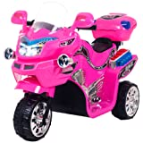 Ride on Toy, 3 Wheel Motorcycle for Kids, Battery Powered Ride On Toy by Lil' Rider  – Ride on Toys for Boys and Girls, 2 - 5 Year Old - Pink FX (Color: Pink, Tamaño: 34.65