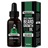 Beard Oil for Men - USA-Made Formula - Natural Unscented Beard Growth Oil for Fuller and Thicker Beard - Best Organic Mustache Conditioner Softener (Color: Black\grey, Tamaño: 1oz)