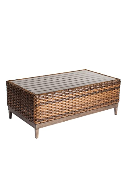 Metropolitan Home Coffee Table Rectangle, Natural