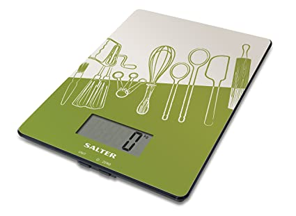 Salter 1102 BLDR Electronic Kitchen Scales