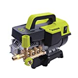 Sun Joe SPX9004-PRO 2.15 HP 1300 Psi 2 GPM Commercial Pressure Washer, Green/Black (Color: green/Black)
