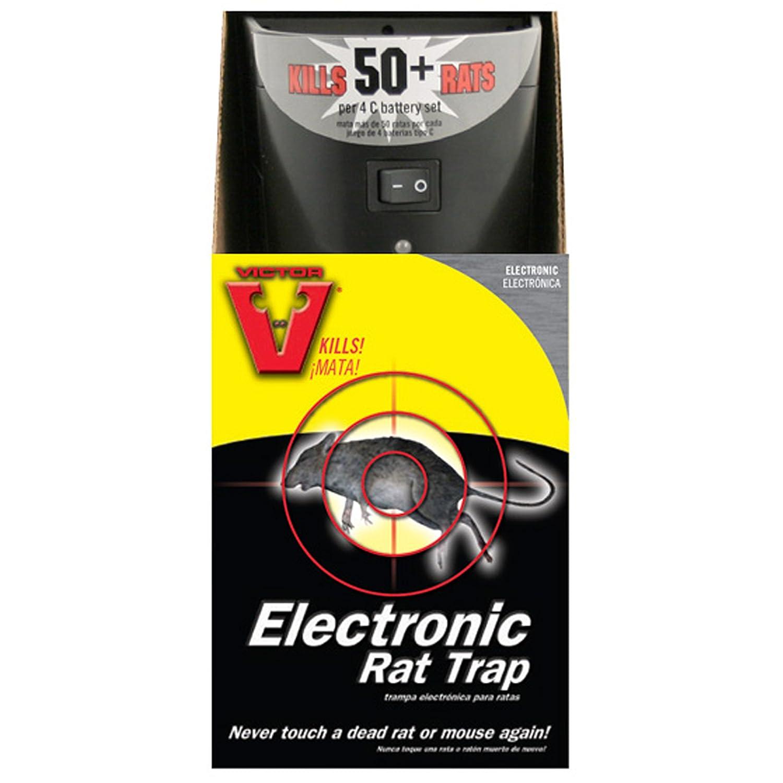 Amazon.com : Victor Electronic Rat Trap M240 : Home Pest Control Traps
