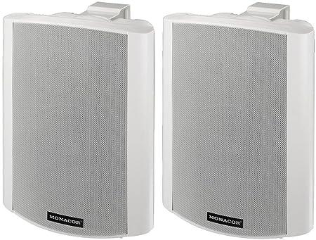 Actif-parleurs stéréo 2 x 30W Système RMS (MKA-80SET/WS)