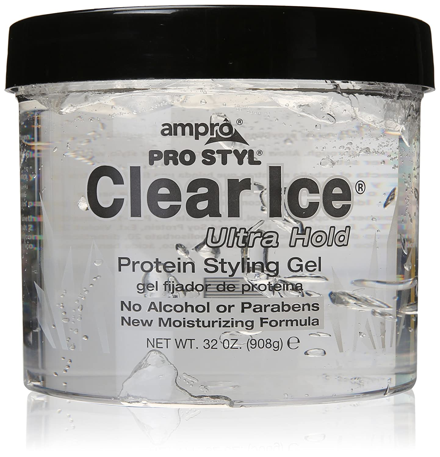 AMPRO STYLING GEL CLEAR 6 OZ(Pack of1)