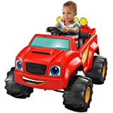 Power Wheels Nickelodeon Blaze & the Monster Machines, Monster Truck (Color: Black, Tamaño: 6 Volt)