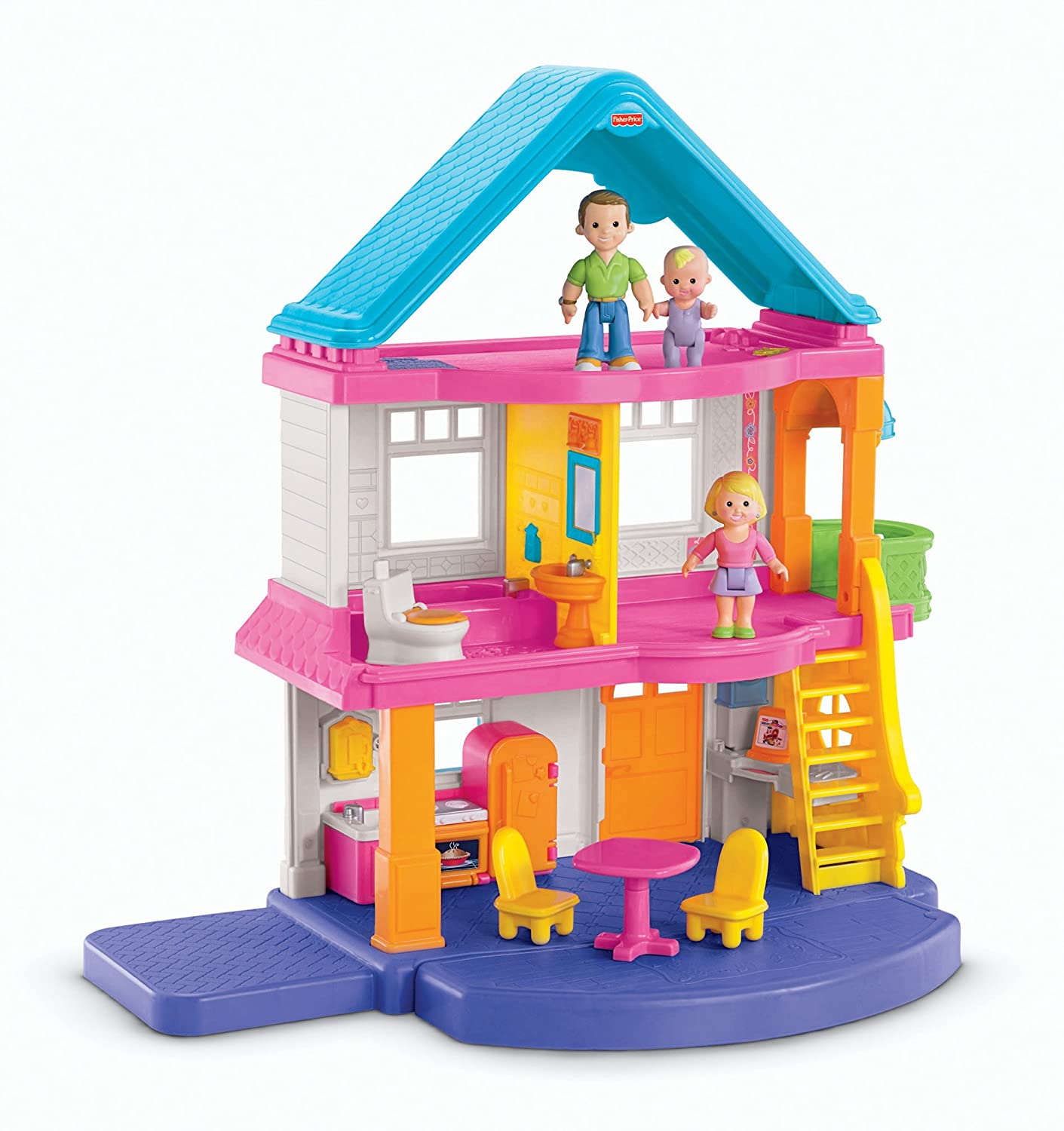 Fisher price my first dollhouse new free shipping ebay for Price my house free online