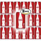 Coca-Cola, 7.5 Fl Oz Mini Can (Pack of 18, Total of 135 Oz)