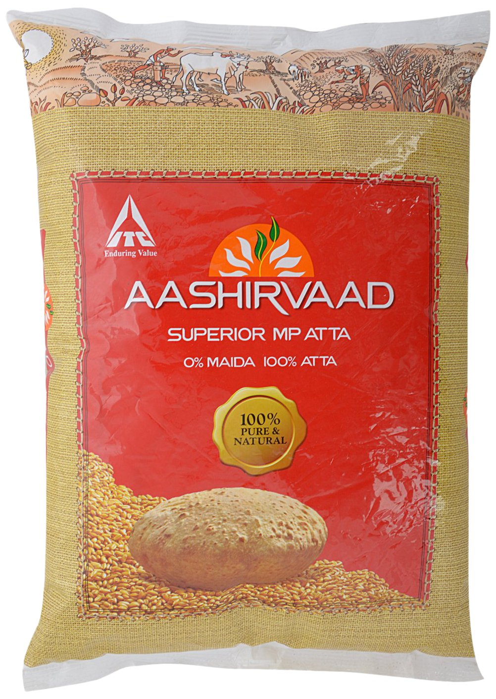 Aashirvaad Superior MP Atta, 5kg By Amazon @ Rs.165