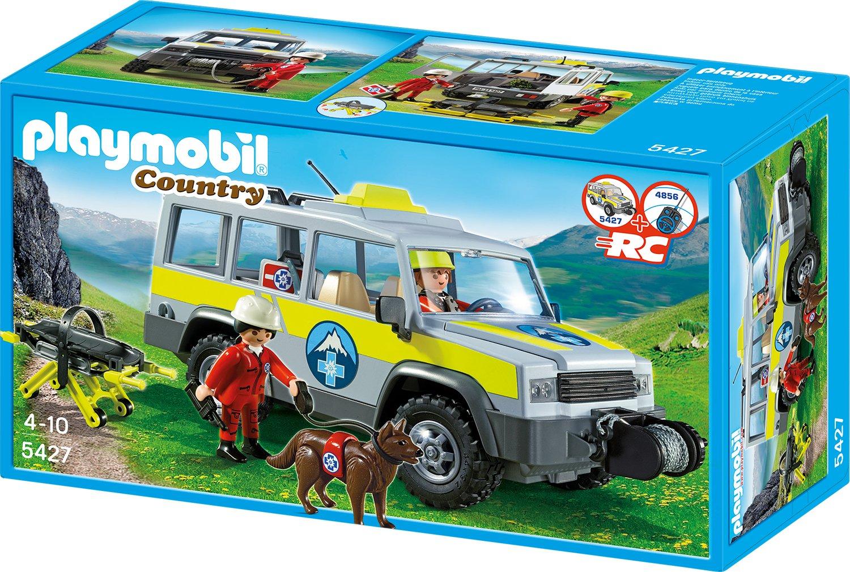 PLAYMOBIL® Einsatzfahrzeug der Bergrettung (5427)
