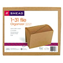 Smead Expanding File, 12 x 10 Inches, 1-31, 1 Each (70168)