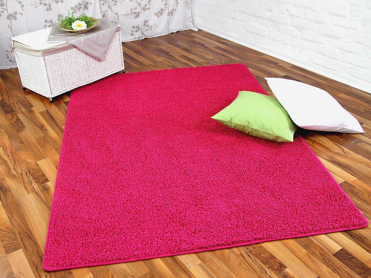 Hochflor Shaggy Teppich Prestige Pink in 24 Größen    Überprüfung und Beschreibung