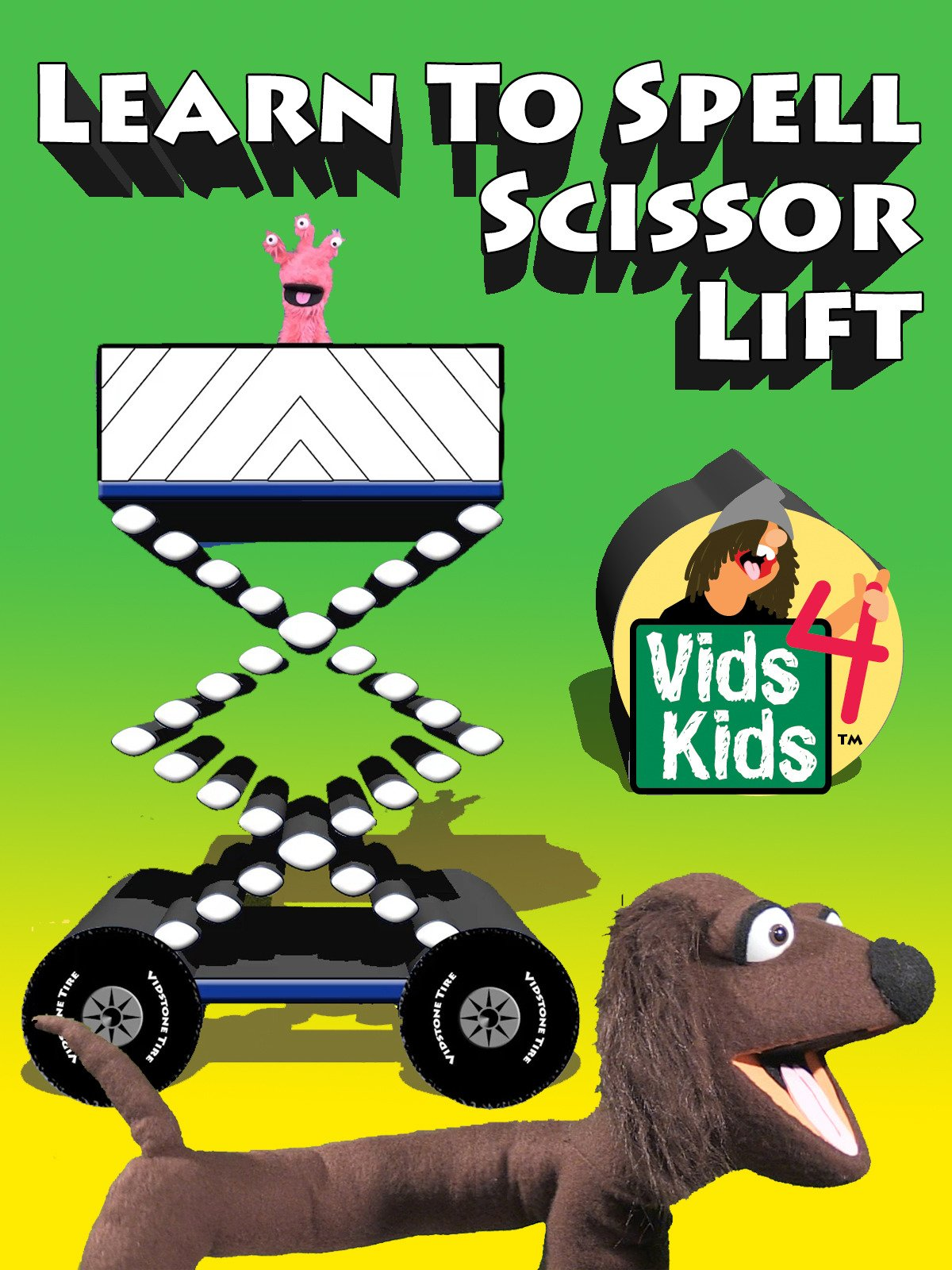 Learn To Spell Scissor Lift
