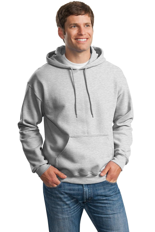 Gildan Activewear DryBlend Pullover Hooded Sweatshirt, L, Ash