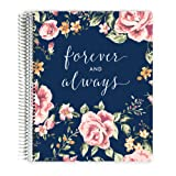 Premium Wedding Planner, Wedding Organizer, Engagement Gift, Always and Forever, 12 Organized Sections 8.5x11 (Tamaño: 8.5x11)