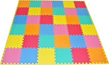 ProSource Kids Puzzle Solid Play Mat