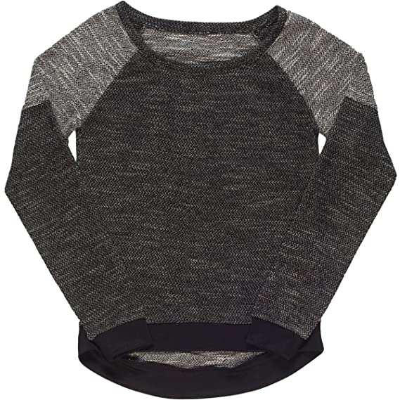 Neff Womens Katy Raglan Crew Fleece Sweater Sweatshirt