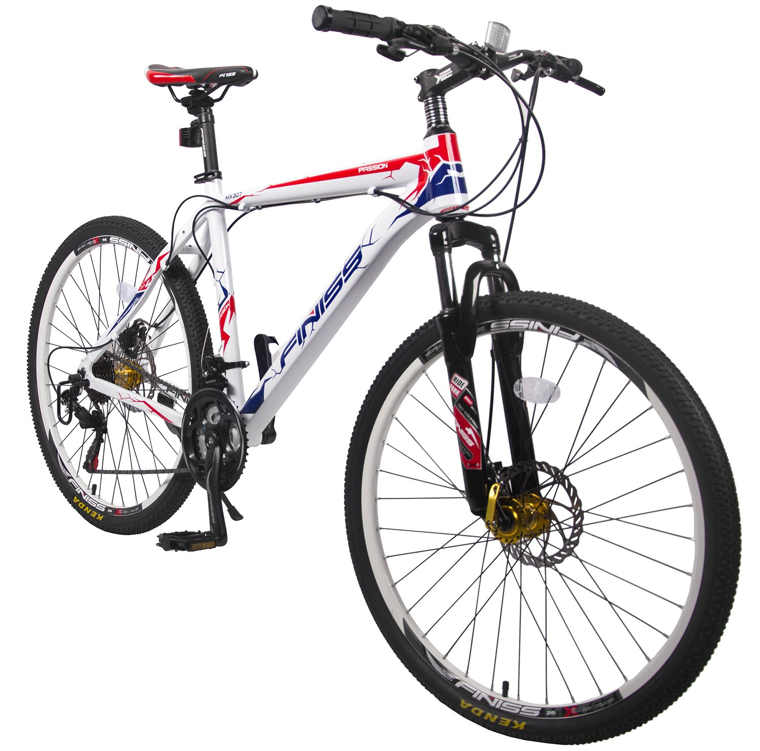 Merax Finiss 26″ Aluminum 21 Speed Mountain Bike 1