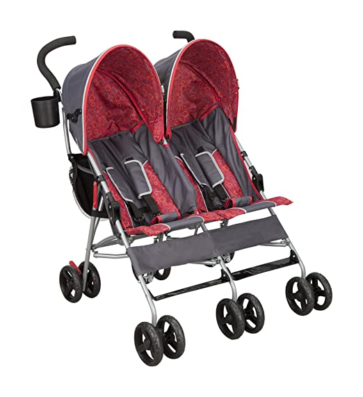 The cheap double stroller - Delta Children LX Side by Side Tandem Umbrella Stroller